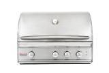 Blaze 34-Inch Built-In Natural Gas Grill With Rear Infrared Burner