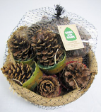 Sampler Gift Basket Chimney Accessory