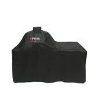 Grill Cover for Oval XL 400 with Counter Top Table by Primo Ceramic Grills