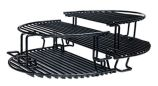 Kamado Extension Oval Rack for Primo Grills - Add 60% More Cooking Area!