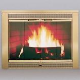 Portland Model 4330 DP-52105 Willamette Polished Brass Glass Door