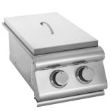 Blaze Outdoor Slide-In Double Side Burner - LP