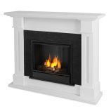 Kipling Indoor Ventless Gel Fireplace, White