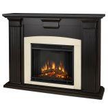 Adelaide Indoor Electric Fireplace, Blackwash