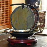 Zen Moonshadow Slate Tabletop Water Fountain