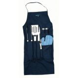 Orion 9 Piece BBQ Set with Apron by Berghoff International