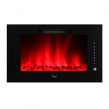"""Caesar 30"""" Hardware Luxury Linear Electric Fireplace- 5 flame Colors"""