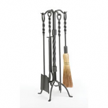 Woodfield 4-Piece Vintage Iron Twisted Rope Tool Set