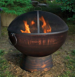 Good Directions FB-2 Oversized Fire Bowl with Spark Screen