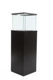 Column Free-standing Bio-ethanol fireplace-Black