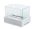Lisboa Table Top Bio-ethanol fireplace-White