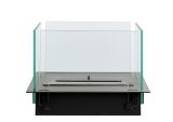 Insert Table Bio-ethanol fireplace-Stainless Steel