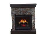 Telluride Polystone Electric Fireplace