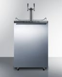 Summit Built-in Residential Beer Dispenser -Stainless SBC635MBISSHHTWIN