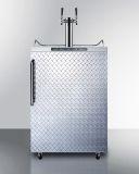 Summit Freestanding Residential Beer Dispenser SBC635MOSDPLTWIN