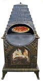 Aztec Allure Cast Iron Chiminea Pizza Oven