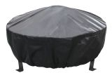 Black PVC & Elastic Cover for Bromley Fire Pit