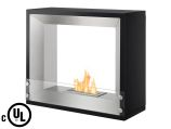 Mecca Freestanding Ventless Ethanol Fireplace - UL/CUL