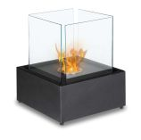 Cube-XL Freestanding Ventless Ethanol Fireplace