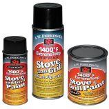 1400 Deg F Black Stove Paint Spray-On - 4.75 oz.