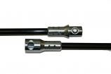 5' Fiberglass Extension Rod, Torque Lock Connector