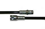6' Fiberglass Extension Rod, Torque Lock Connector