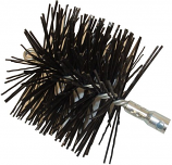 "10"" Round Polypropylene Torque Lock Connector - Master Sweep Chimney Brush"