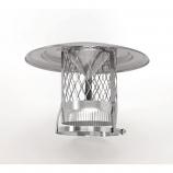 HomeSaver Inverted 304 Alloy Cone Cap - 3/4 Mesh