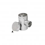 "Aluminum 6"" Selkirk Flexi-liner Tee Cover"