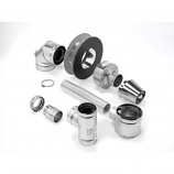 "Selkirk Direct-temp 4"" x 6-5/8"" Up and Out Horizontal Termination Kit"