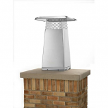 """Gelco 13"""" x 13"""" Stainless Steel Flue Stretcher Adds 2' Height"""