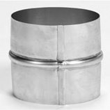 "Aluminum 3"" Flex Coupler for Flexi-liner"