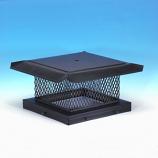 "HomeSaver Pro Galvanized Single-Flue Chimney Cap 5/8"" Mesh"