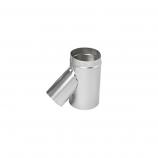 "Aluminum 6"" Selkirk Flexi-liner Wye with 4"" Leg"