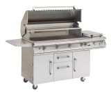 Cart for Big Sur Grills with 2 Doors, 2 Drawers and Tank pull out