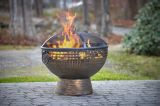 Good Directions FB-5 Oversized Eagle Fire Bowl with Spark Screen