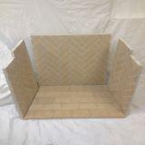 "Herringbone Brick Panels - For use with 39"" Mason-Lite Fireboxes"