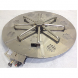 Stainless Steel Burner for 48 inch Fire Ring - Natural Gas