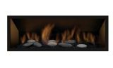 Clean Face Black Surround w/ Safety Barrier for Bennett 45L Fireplaces