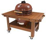 Saffire SGTT23-TT XL Golden Teak Table, Wood Top - TABLE ONLY