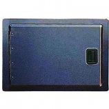 Black Single Access Door - 20""