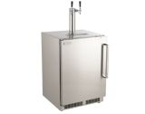 New Outdoor Rated Left Swing Kegerator with Handle