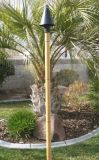 Faux Bamboo Tiki Pole - 10'