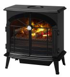 Opti-Myst Electric Stove- Gloss Black