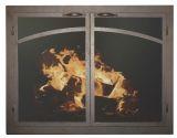 """FP Arch Panels GL Door w/Gate Mesh, 2.5"""" Frame In BG - 39"""" x 28"""""""