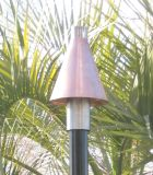 Copper Cone Series Automated Tiki Torch with Aluminum Pole - NG