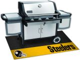 """NFL - Pittsburgh Steelers Grill Mat 26"""" x 42"""""""