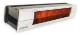 Two Stage Infrared 25,000 and 34,000 BTU Black Heater - NG
