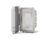Single On/Off Switch Flush Mount with Gang Box - 20 Amp