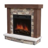 Urban Mountain Lodge Electric Fireplace